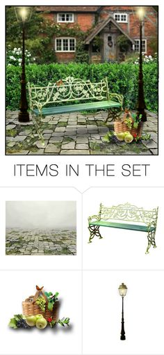 """""""Picnic In the Park"""" by retrocat1 ❤ liked on Polyvore featuring art"""