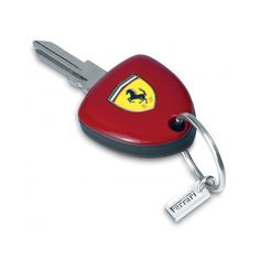 Enzo Ferrari key - Ferrari Store (€190) ❤ liked on Polyvore featuring accessories and keys