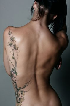 This is the exact placement Tatoo idea I want. Different tree & extras but this is how I want it to pan out.