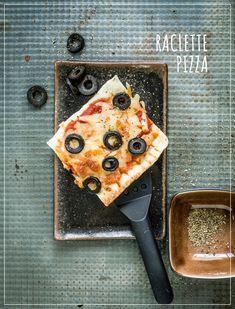 Pizza aus dem Raclette-Pfännchen Easy Meals, Baking, Rezepte