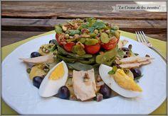 Estupenda #receta de La cocina de los inventos: #ensalada de #patata y judías verdes con nuestras Patatas del Pueblo