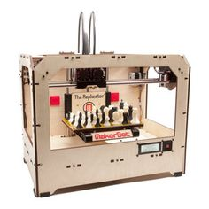 Personal #3DPrinter. The Replicator Dual Extruder now featured on Fab.