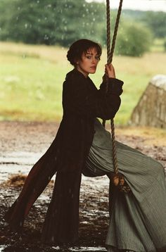 Kiera Knightly as Elizabeth Bennett...sometimes I wish I could just spin around like her on that swing. Movies Showing, Movies And Tv Shows, Pride And Prejudice 2005, Pride And Prejudice Elizabeth, Pride And Prejudice Quotes, Elizabeth Bennett, Elizabeth Bennet Quotes, Señor Darcy, Jane Austen Movies