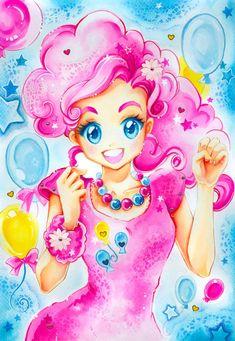 My little Pony: Pinkie Pie by *Naschi on deviantART