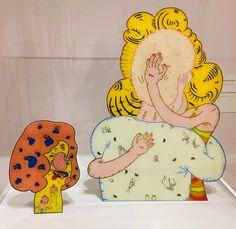 Jim Nutt, 1968 Chicago Imagists, Bart Simpson, Pop Art, Arts And Crafts, Snoopy, Graphic Design, Fine Art, Castle, Paintings
