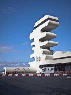 Sarpi Border Checkpoint by J. Mayer H. Architects