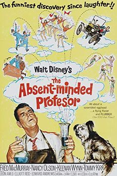 Watch->> The Absent-Minded Professor 1961 Full - Movie Online Movie Posters For Sale, Disney Movie Posters, Classic Movie Posters, Cinema Posters, Classic Movies, Film Posters, Rapunzel Film, Tangled Movie, I Movie