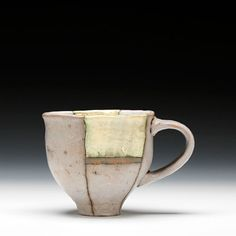 Natalie Tornatore. Wow ! beautiful union of form and surface. Fantastic handle & lip
