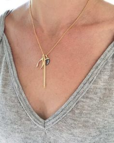 Meridian Avenue   Lucky Charm Necklace – Online Jewelry Boutique