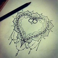 Hearth idea tattoo