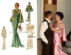 Photo Credit: Tara O Photos, Dressmaker: @creatablelady (Instagram) Dinner Gowns, Evening Gowns, All Fashion, Womens Fashion, Tea Gown, Bridal And Formal, Dressmaker, House Dress, E30