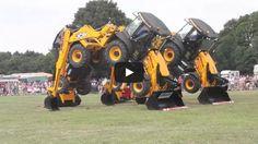 JCB Tractor Dancing