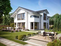 Fantastic 161 - Bien Zenker - Fertighaus - New Ideas Dream Mansion, Local Architects, Modern Mansion, Dream House Exterior, Mansions Homes, Prefab Homes, Home Design Plans, Modern Exterior, Design Case