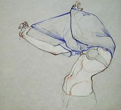 Take Your Clothes Off. - Adara Illustrations.// Adara Sánchez