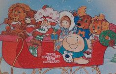 American greetings Christmas - Cartoon characters from the Wow that really brings me back! You are in the right place about - Retro Christmas, Vintage Holiday, Christmas Greetings, Winter Christmas, Christmas Cards, 1980s Childhood, My Childhood Memories, 1980 Cartoons, Christmas Cartoons