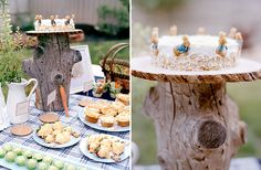 peter rabbit baby shower. Great table scaping ideas