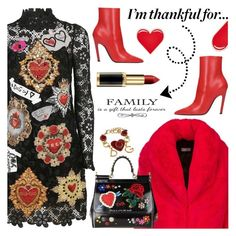 """I'm Thankful for....."" by shoaleh-nia ❤ liked on Polyvore featuring Dolce&Gabbana, Balenciaga and PINTRILL"