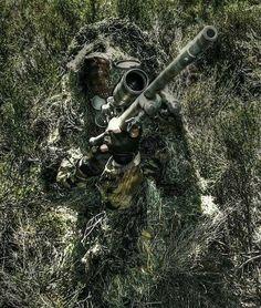 Camouflage All credit to the Photographer/Owner by gentlemanchannel Military Special Forces, Military Love, Military Gear, Military Police, Military Weapons, Sniper Gear, Ghillie Suit, Army Gears, Sniper Training