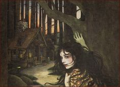 Trina Schart Hyman, She saw a little house and went inside to rest