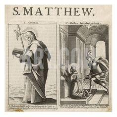 Saint Matthew the Evangelist the Martyrdom of St Matthew Giclee Print at Art.com