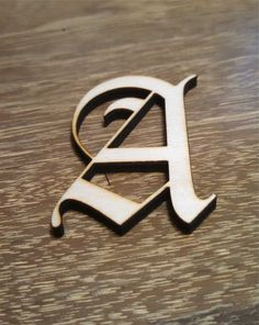 Old English Font Laser Cut Letters or Numbers  2 by USALaserPro