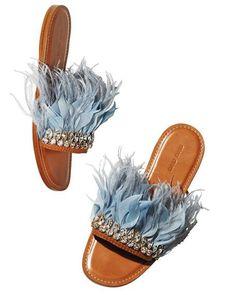 Women/'s Pom Pom Top Sliders Rubber Espadrille Style Sole Flat Mule Sandals Rose