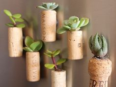 Looking for DIY wine cork crafts? Cork crafts are fun and easy. Learn how to make a wine cork wreath, wine cork board, other ideas with wine corks. Wine Cork Projects, Wine Cork Crafts, Diy Projects, Recycling Projects, Cool Diy, Easy Diy, Clever Diy, Mini Vasos, Mini Magnets