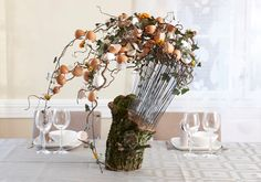 Påskekunst af blomsterkunstner Uffe Balslev
