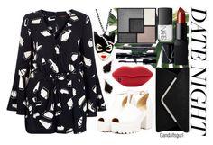 """•DATE NIGHT•"" by gandalfsgurl ❤ liked on Polyvore featuring NARS Cosmetics, River Island, Yves Saint Laurent, Shiseido, Barry M, STELLA McCARTNEY and Kendra Scott"