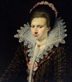 An unknown lady, possible Isabel Harpur (17th c), attr. Jan Anthonisz van Ravesteyn, The National Trust