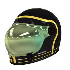 Custom Bell motorcycle helmets by Hellmade. design the colours and they send it out. Custom Motorcycle Helmets, Cruiser Motorcycle, Motorcycle Outfit, Women Motorcycle, Honda Motorcycles, Vintage Motorcycles, Moto Wear, Karts, Custom Paint Jobs