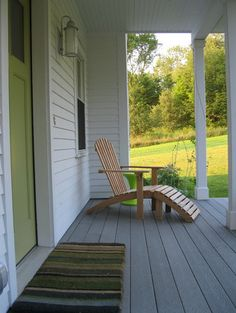 .GOOD idea for front porch