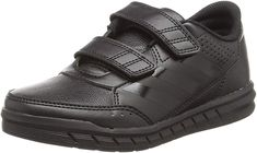 adidas Boys' AltaSport Cf K Fitness Shoes Workout Shoes, Gymnastics, All Black Sneakers, Core, Child, Adidas, Unisex, Shoe Bag, Sandals