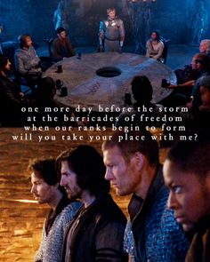 YES! Les Mis and Merlin!! Perfectness! Pure perfectness!!!!!!!!!! <3 SO MANY FEELS