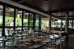 ocha & bella restaurant in Jakarta- never seen a wood-enclosed wood burning oven!