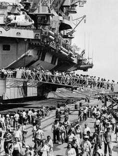 Touring The USS John F. Kennedy