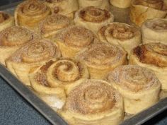 Cinnamon Roll Convenience Without the Can - how to make and freeze cinnamon rolls as well as several delicious recipes.