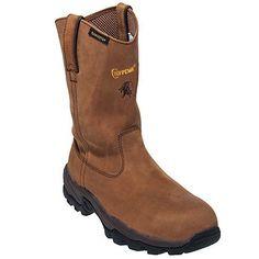 Chippewa Boots Men's Brown Waterproof Brown EH Pull-On Wellington Work Boots 55171,    #ChippewaBoots,    #55171,    #Men'sWorkBoots
