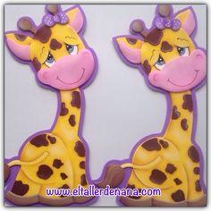 """Feliz jueves, aquí les comparto el molde de la jirafa que publiqué la semana pasada, un abrazo...    """"El Mundo es un lugar mejor cuando so..."""