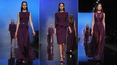Elie Saab, Ready to Wear, Fall/Winter 2013 #purple
