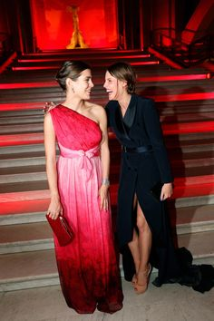 Charlotte Casiraghi and Actress Juliette Maillot Are Best Dressed Best Friends