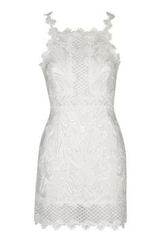 PETITE Lace Detailed Bodycon Dress