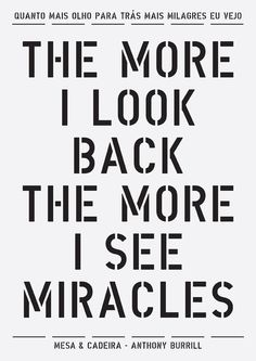 little miracles along the way...