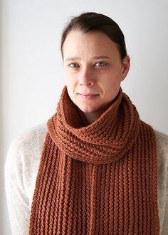 Ravelry: Rick Rack Scarf pattern by Purl Soho Knitting Machine Patterns, Knit Patterns, Easy Knitting, Knitting Stitches, Mens Knitted Scarf, Knitted Scarves, Scarf Knit, Knit Wrap Pattern, How To Purl Knit