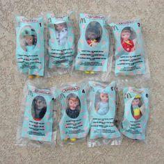 Madame Alexander Mini Dolls 2004 McDonalds Happy Meal Set of 8 Complete Disney  #MadameAlexander #Dolls