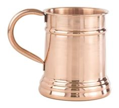 THE STEIN Finish: SmoothSize: 16 oz.Materials: Solid Copper Perfect for enhancing flavor and keeping your favorite microbrews and craft beers ice cold, this mug's design pays homage to the traditional Belgian beer mug. Moscow Mule Cups, Copper Moscow Mule Mugs, Solid Copper Mugs, Copper Cups, Glass Beer Mugs, Wine Glass Set, Mint Julep Cups, German Beer Steins, Drinking Glass