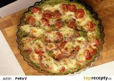 Brokolicová pizza bez mouky