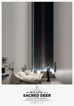 The Killing of a Sacred Deer - poster -> https://teaser-trailer.com/movie/the-killing-of-a-sacred-deer/ #TheKillingOfASacredDeer #ColinFarrell #TheKillingOfASacredDeerMovie
