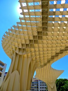 Metropol Parasol. 2011. Seville, Spain. German architect Jürgen Mayer-Hermann.