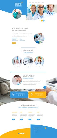 This HTML template is on TOP of clients reviews. Check out this Medical Responsive Website Template for online presentation of any clinic. #medicalwebsitedesign #html5template #medicalwebsitelayout  https://www.templatemonster.com/website-templates/58241.html/